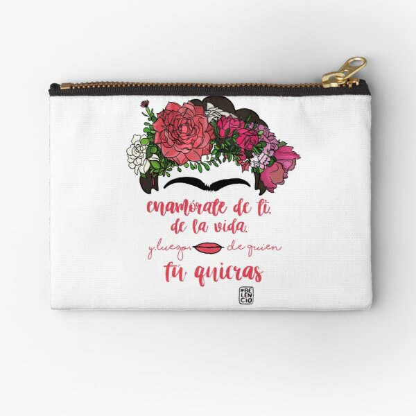 Fall in love with yourself, with life and after whoever you want Zipper Pouch