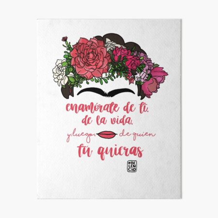 Fall in love with yourself, with life and after whoever you want Art Board Print