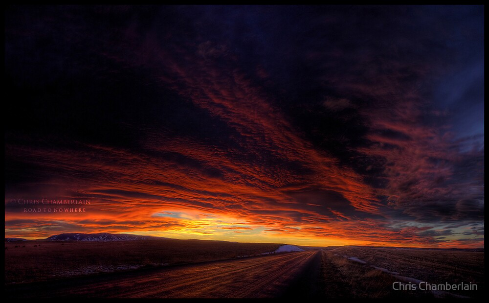 Road to Nowhere by Chris Chamberlain