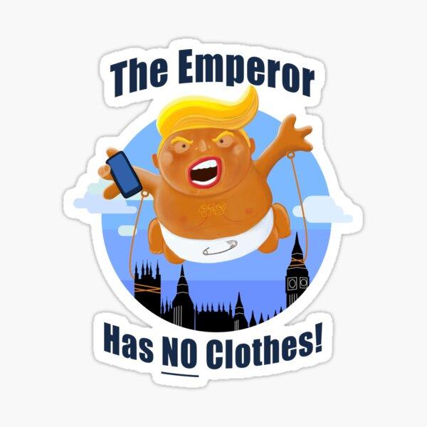 Funny Anti Donald Trump Political Baby Trump Vinyl Decal Sticker