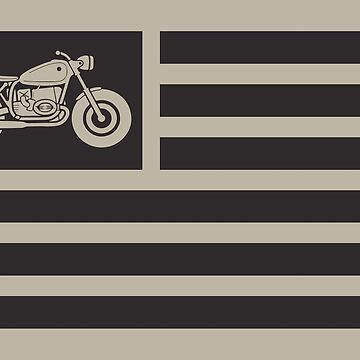 American Cafe Racer Motorcycle by biggeek