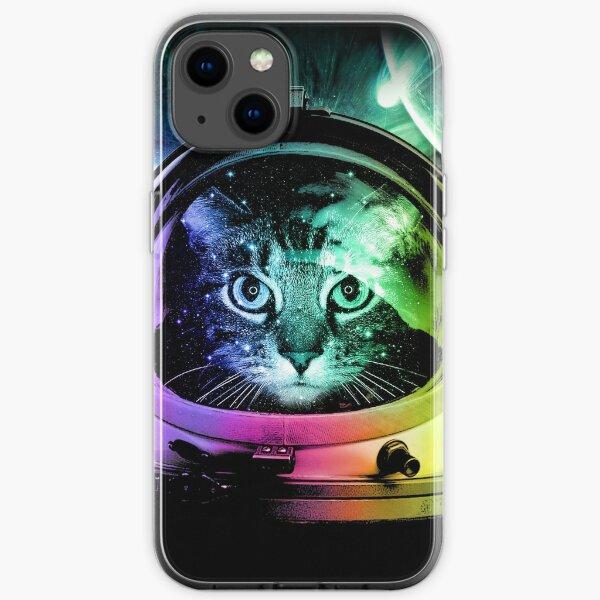 Astronaut Cat V.II iPhone Soft Case