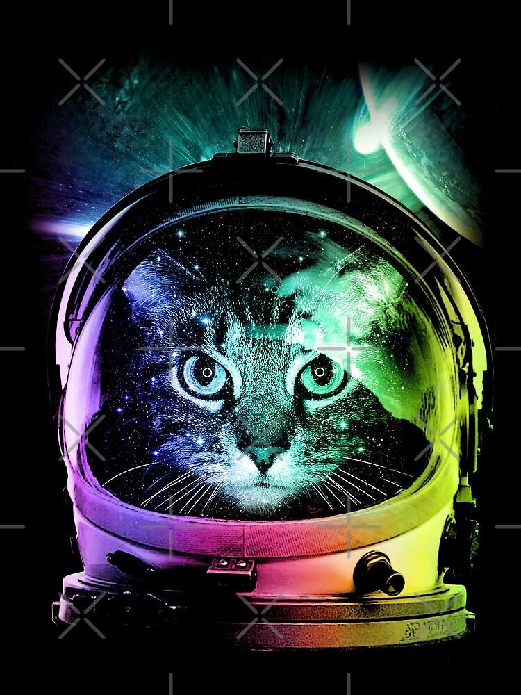 Astronaut Cat V.II by clingcling