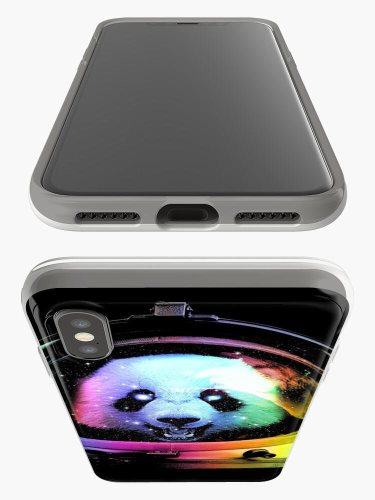 Alternate view of Astronaut Panda iPhone Cases & Covers