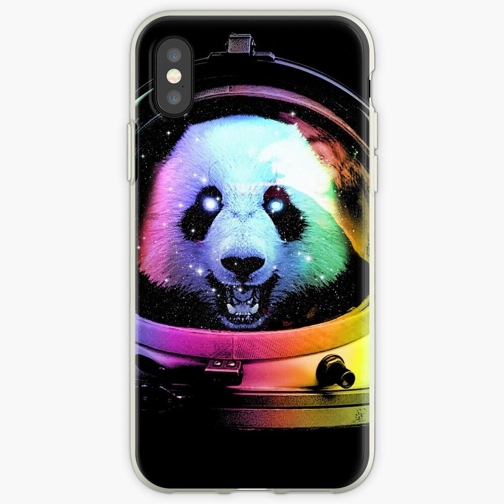 Astronaut Panda iPhone Cases & Covers