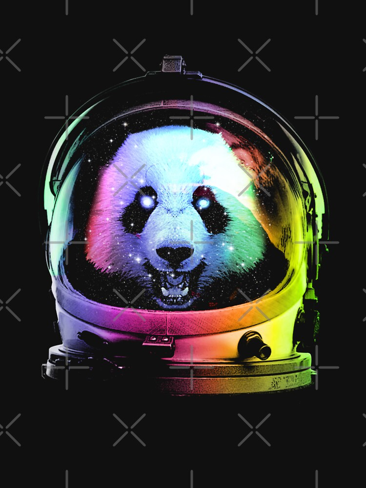 Astronaut Panda by clingcling