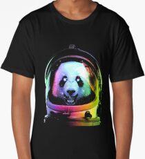 Astronaut Panda Long T-Shirt