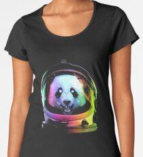 Astronaut Panda Women's Premium T-Shirt
