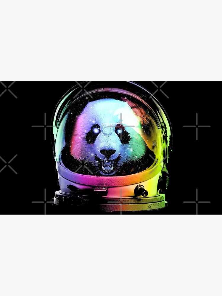 Astronaut Panda by clingcling
