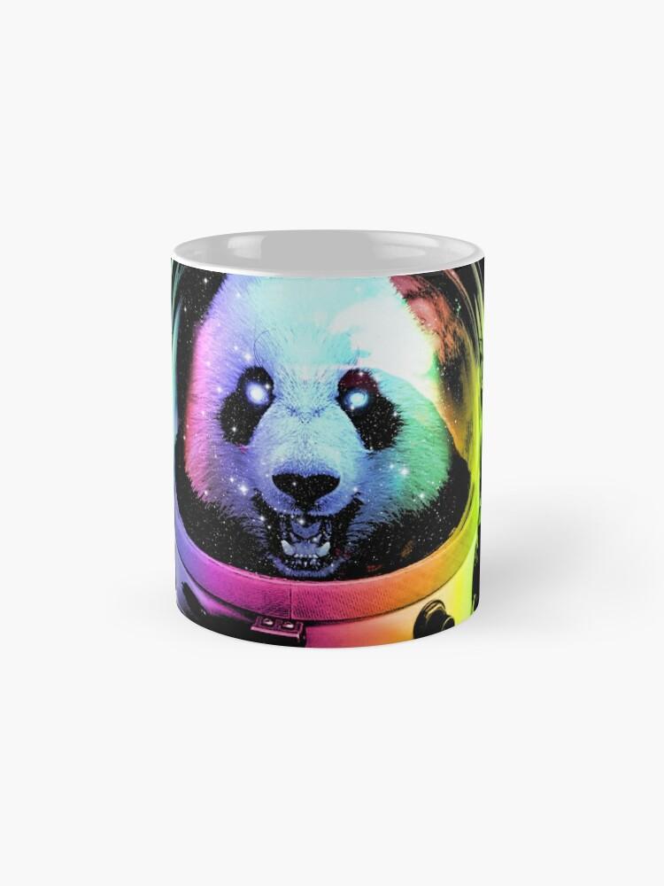 Alternate view of Astronaut Panda Mugs