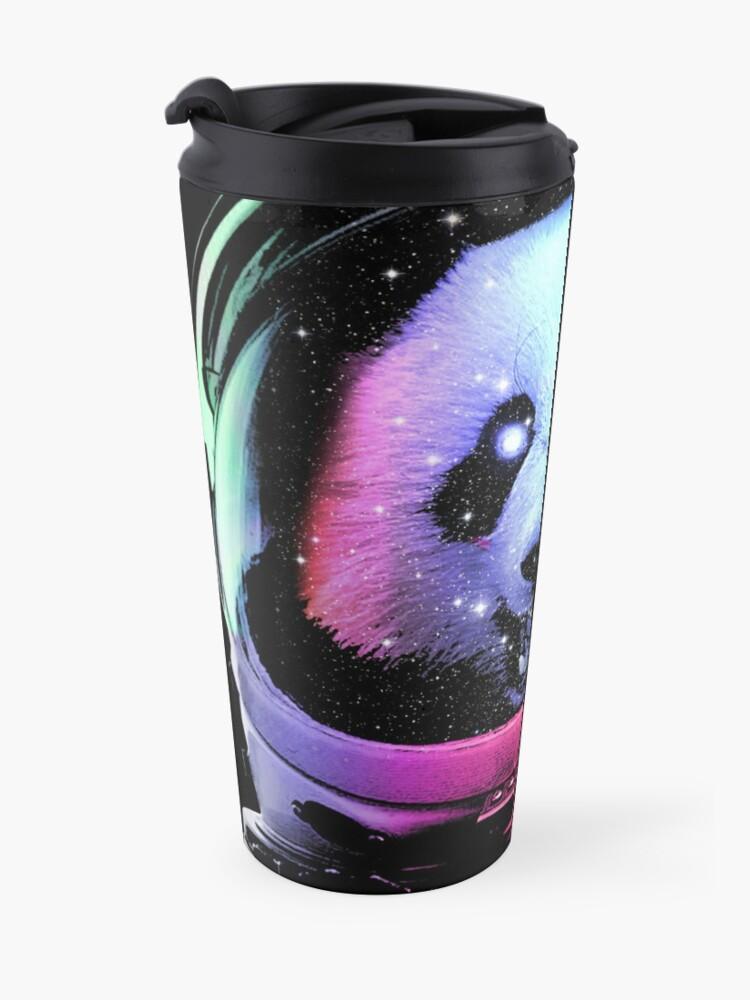 Alternate view of Astronaut Panda Travel Mug