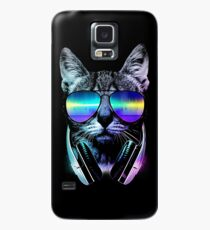 Music Lover Cat Case/Skin for Samsung Galaxy