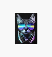Music Lover Cat Art Board