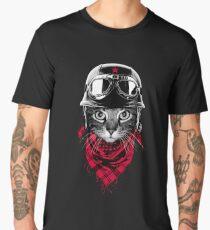 Adventurer Cat Men's Premium T-Shirt