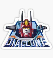 Diaclone Sticker