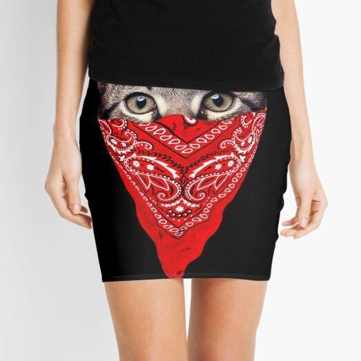 Gangster Cat Mini Skirt