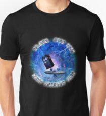 Dr Who Star Trek Race Through Time 2 Unisex T-Shirt