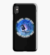 Dr Who Star Trek Race Through Time 2 iPhone Case