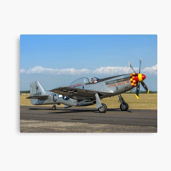 P-51D Mustang 44-74427/G4-C  F-AZSB Canvas Print