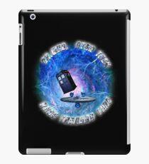 Dr Who Star Trek Race Through Time 2 iPad Case/Skin