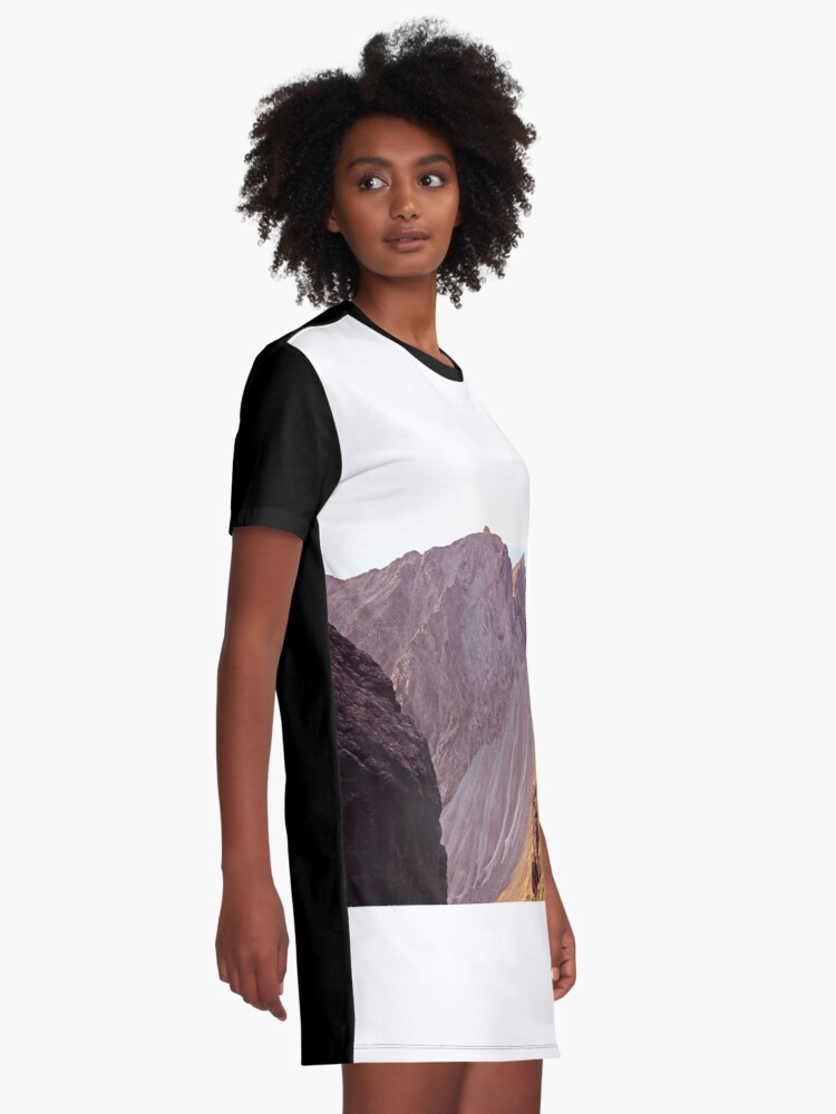 Alternate view of From The Great Stone Chute Graphic T-Shirt Dress