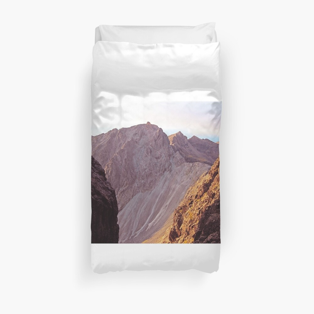 From The Great Stone Chute Duvet Cover