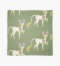 Sweet forest Unicorn and Hedgehog friend Scarf