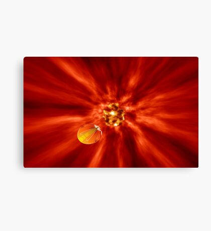 Escape Velocity Canvas Print