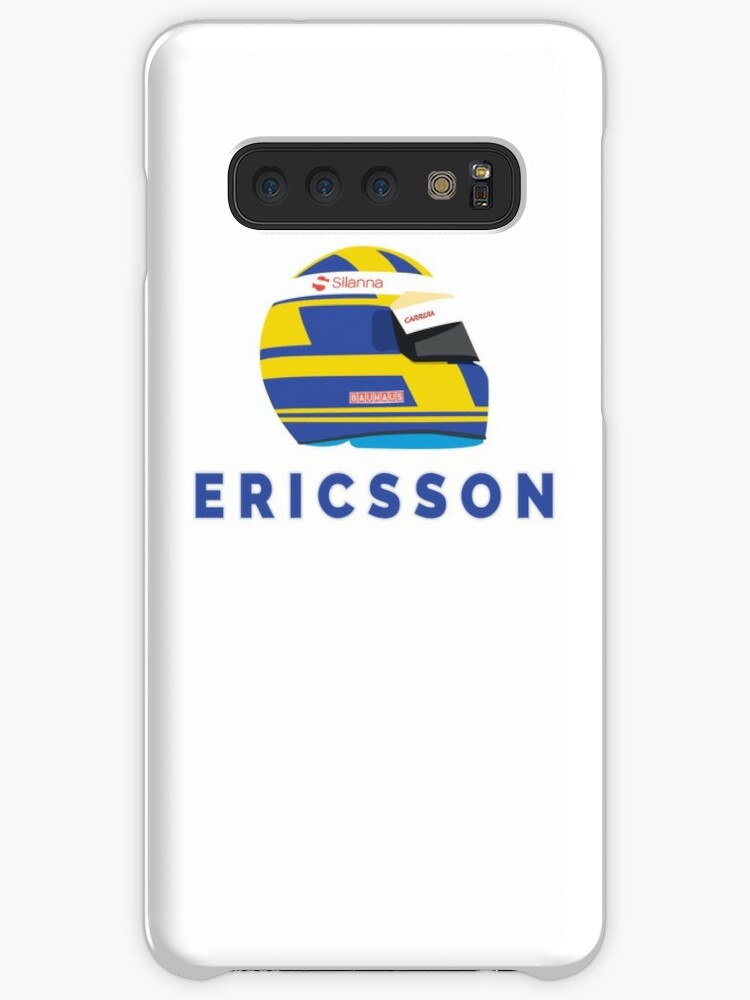 'Marcus Ericsson 2018 Helmet' Case/Skin for Samsung Galaxy by Seb Cooke