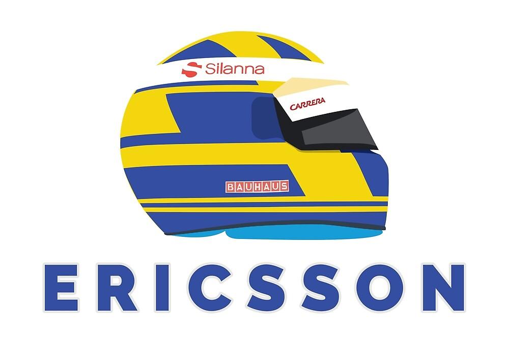 Marcus Ericsson 2018 Helmet