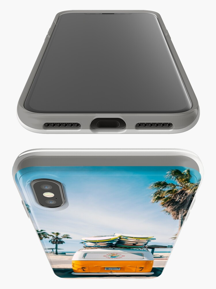 Alternate view of Combi van surf iPhone Case & Cover