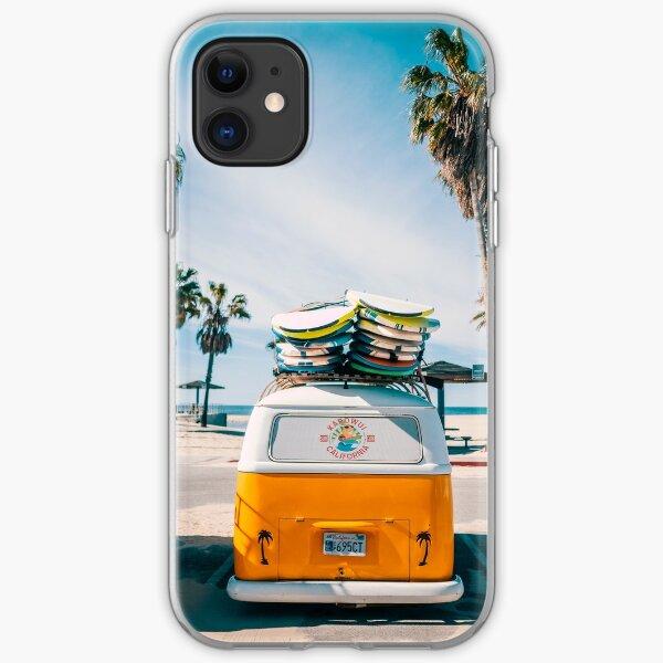 Combi van surf iPhone Soft Case