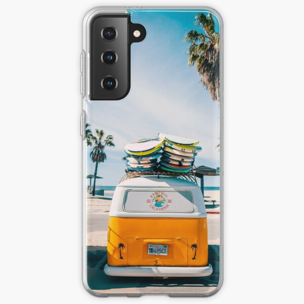 Combi van surf Samsung Galaxy Soft Case