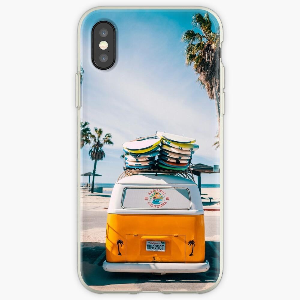 Combi van surf iPhone Case & Cover