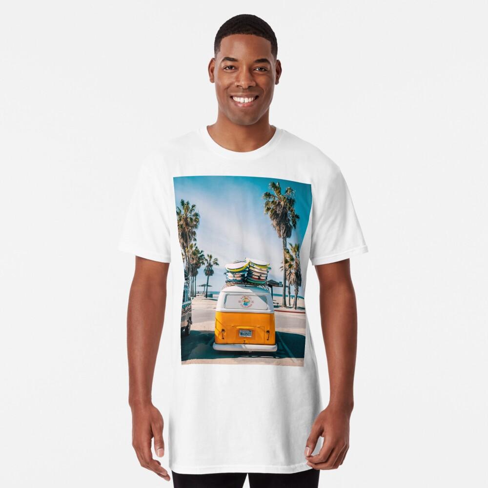 Combi van surf Long T-Shirt