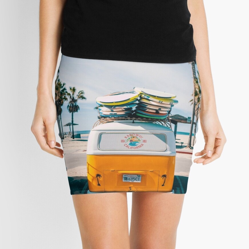 Combi van surf Mini Skirt