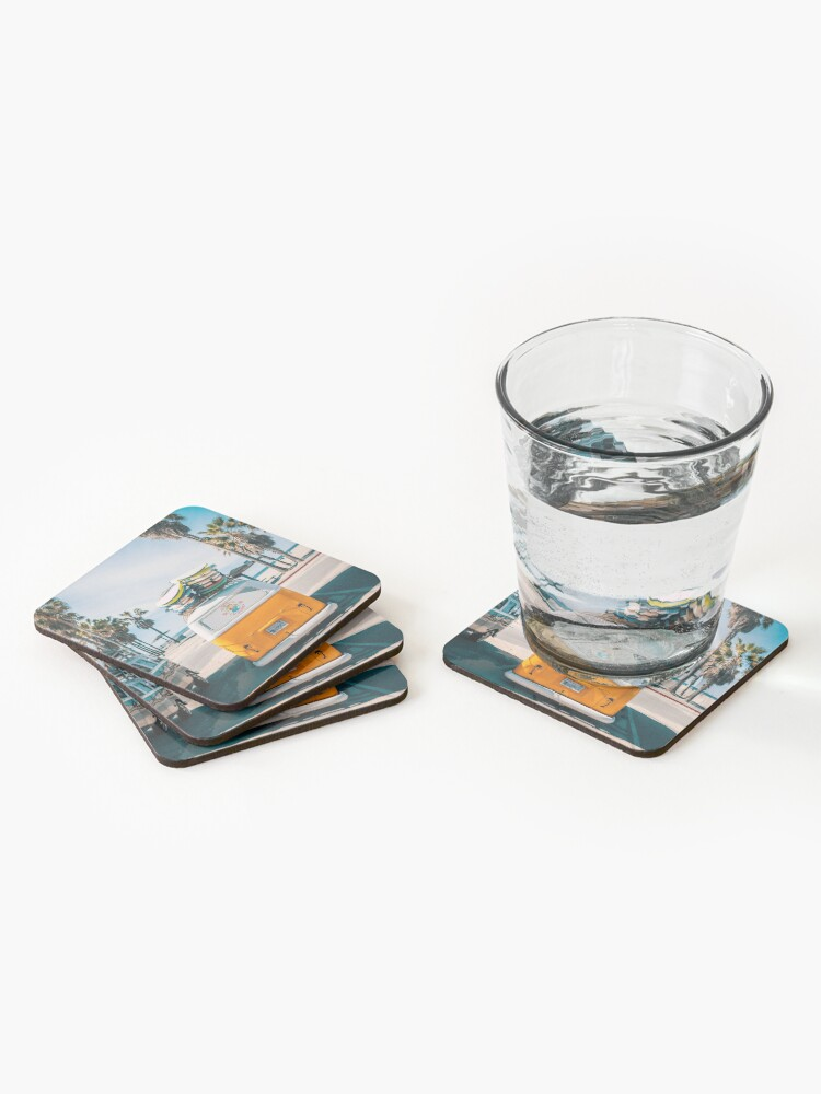Alternate view of Combi van surf Coasters (Set of 4)