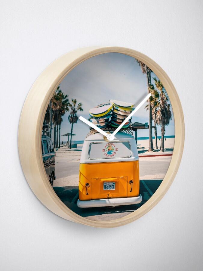 Alternate view of Combi van surf Clock