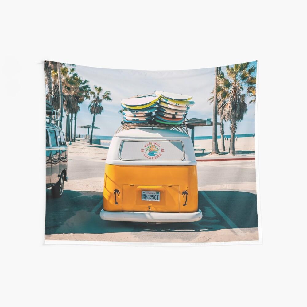 Combi van surf Wall Tapestry