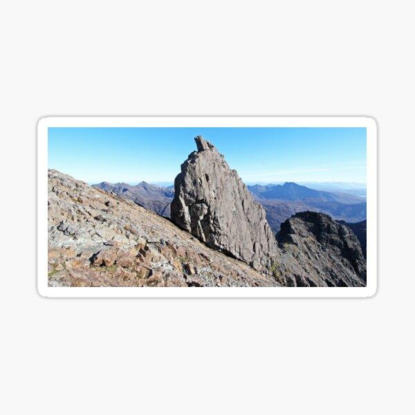 The Inaccessible Pinnacle, Sgurr Dearg Sticker