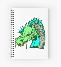Japanese Dragon - Tatsu Spiral Notebook
