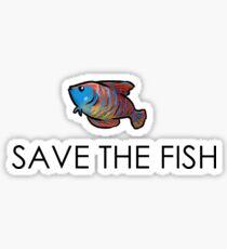 Save the fish Sticker