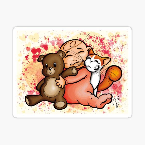 Group Hug Sticker