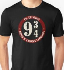 Platform 9 And 3 Quarters Unisex T-Shirt