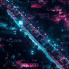 Neon Superhighway by Eugene Tumusiime