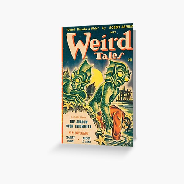 Weird Tales Greeting Card