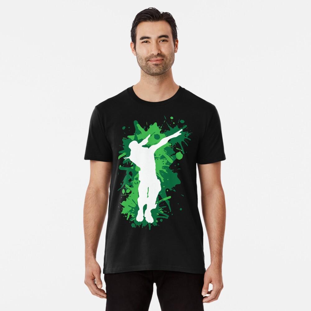 Tupfentanz - Grün Premium T-Shirt