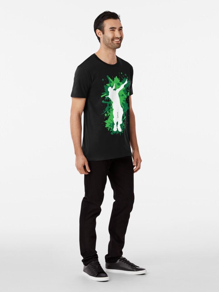 Alternative Ansicht von Tupfentanz - Grün Premium T-Shirt