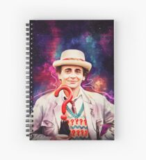 Seventh Doctor Spiral Notebook