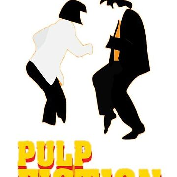 PULP FICTION inspiration sticker by Moorean